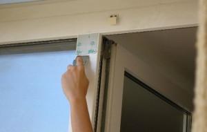 чтобы снять пленку с пластиковых окон