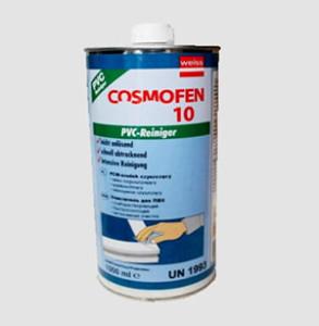 средство для чистки пластика Космофен