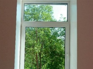 Горизонтальный импост окна