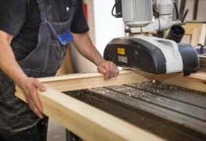 Обработка бруса для деревянных окон