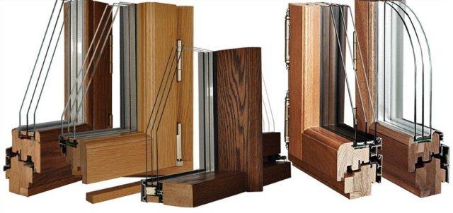 При оформлении заказа на деревянные окна из любого материала возможна дополнительная обработка профиля лаком.