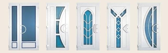 Разновидности межкомнатных пластиковых дверей