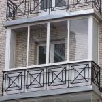 Балкон, застекленный слайдорсом