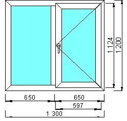 Основные стандарты размеров пластиковых окон