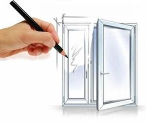 Окна стандартных размеров и изготовление на заказ