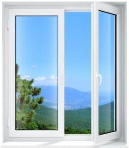 Стандартные пластиковые окна