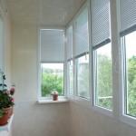 Какие виды жалюзей на балкон бывают