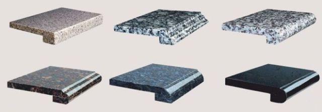 Стоимость подоконника из камня