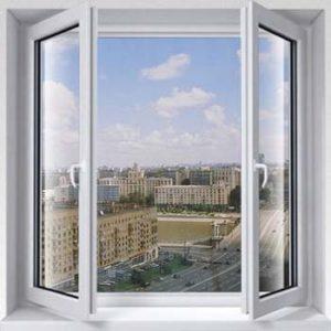 Штульповые, безимпостные окна