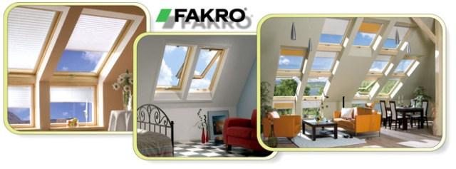 Мансардные окна фирмы Факро