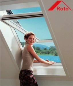 Мансардные окна фирмы Рото