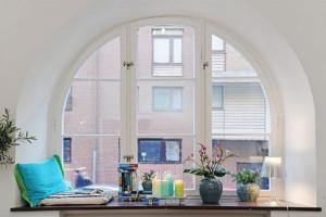 Обычное французское окно