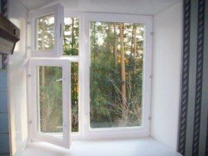 Пластиковые окна с форточками фото