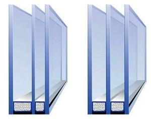 Двухкамерные стеклопакеты от нашей компании