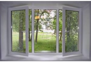 окна открывающиеся секции