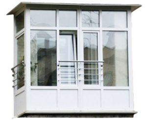 Французское остекление балконов является абсолютно безопасным