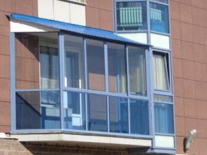 Холодный французский балкон