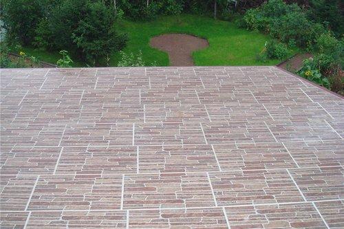 плитка на балкон