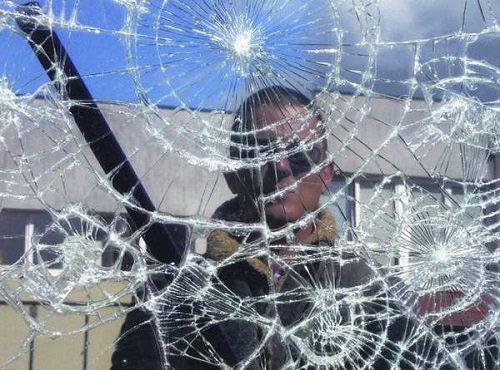 Бронированная пленка на оконные стекла