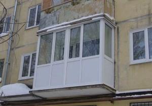 Остекление балконов в хрущевке основные моменты