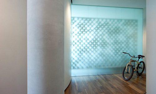 Декоративные стеклянные стены