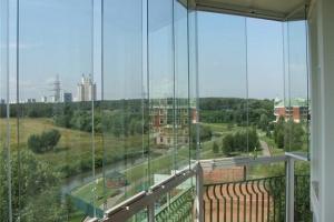 Эркерное панорамное остекление