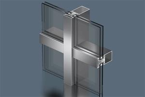 стоечно ригельная система для остекления фасадов
