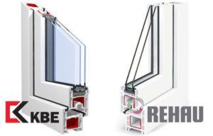 KBE или Rehau, что лучше и какие выбрать окна