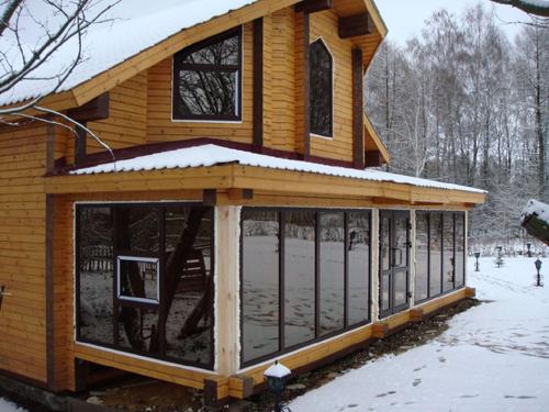 Пластиковые окна для загородного дома