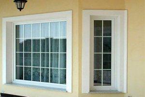 Окна с жесткими нащельниками