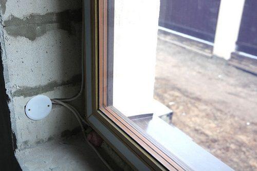 Окна с электроподогревом стекол