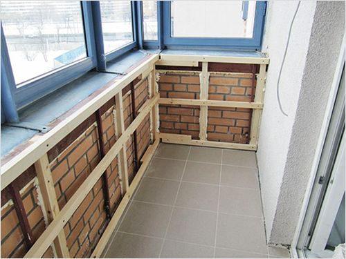 Стеновые панели ПВХ для балкона