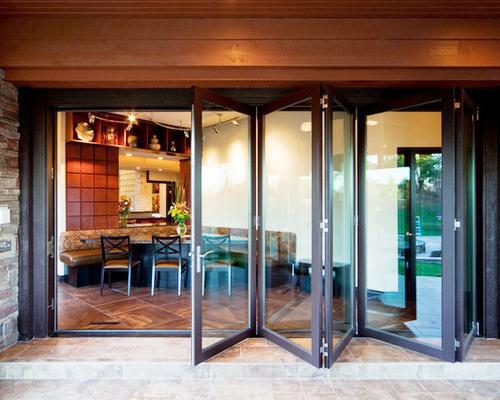 Раздвижные панорамные двери
