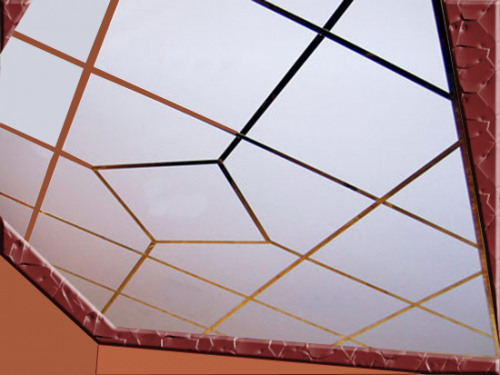 Стеклянные потолки