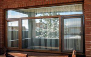 Окна пластиковые коричневые – оригинальный выбор