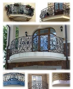 балконы с площадками