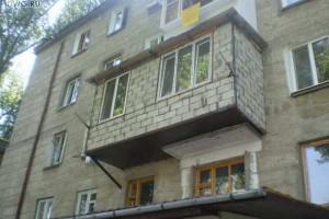 Расширение балкона нуждается в согласовании