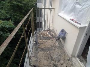 демонтаж балконной плиты