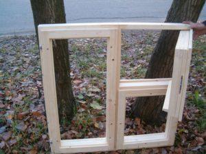 Деревянные окна своими руками