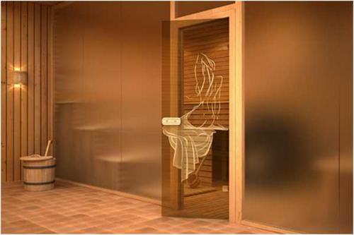 Стеклянная дверь в сауну, размеры