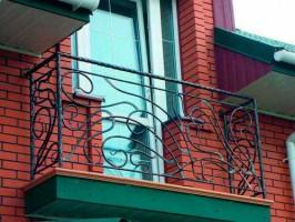 кованое ограда балкона