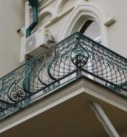 Сварная конструкция для балконной ограды
