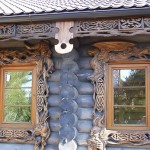 Из дерева дизайнерские окна