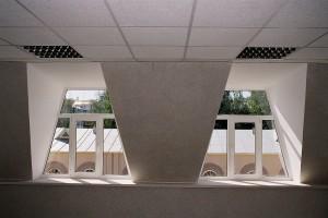 Окна с профилем Aluplast в административном здании