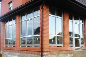 Окна с профилем Proplex, вид снаружи