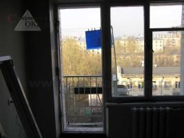 Снятие балконной двери