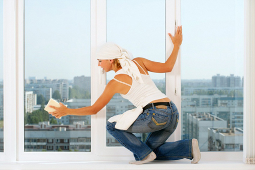 Как быстро и хорошо помыть окна?