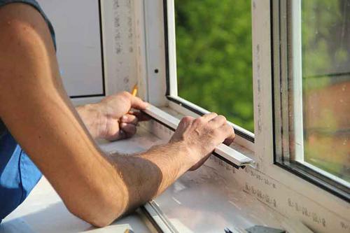 Разобрать пластиковое окно