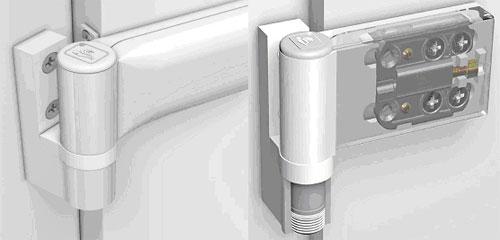 Как снять пластиковую балконную дверь с петель