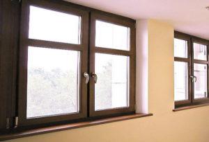 Принцип изготовления коричневых окон